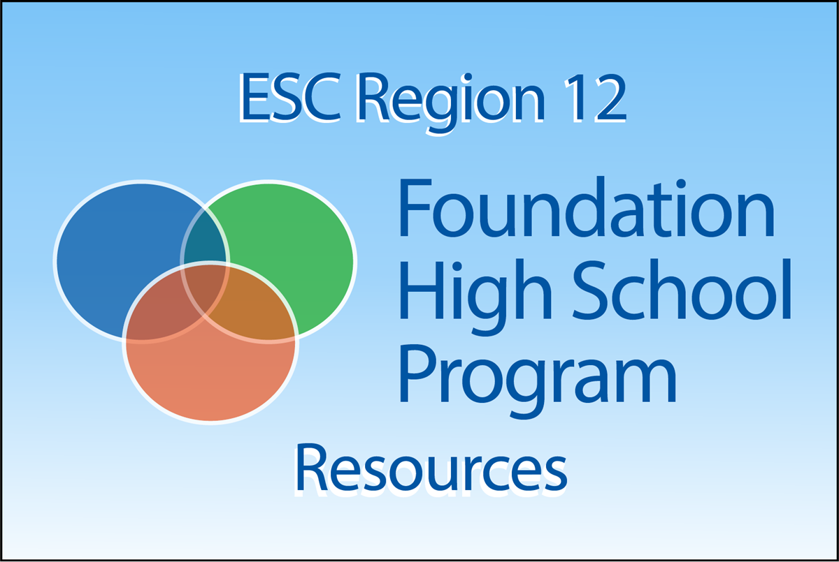 Foundation High School Program Resources